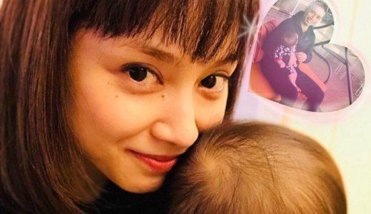 平愛梨の子供がヤバイ可愛い!性別はバンビーノで名前は?可愛すぎ、最強遺伝子との声!