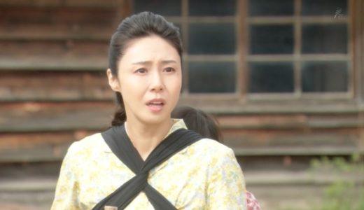 【なつぞら・松嶋菜々子】おんぶひもの位置が気になる!北海道弁が不自然と話題に!