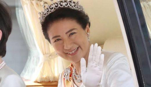 【皇室】雅子様がティアラをヤフオクで売った?紛失した噂はデマだった!